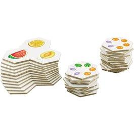 Priraďovacie kartičky - Ovocie