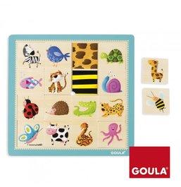 Puzzle - Povrchy zvieratiek
