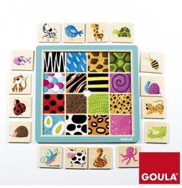 Puzzle - Povrchy zvířátek