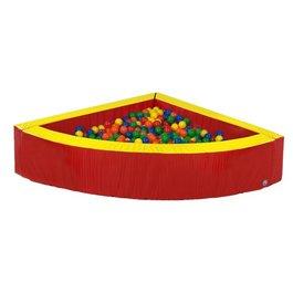 Rohový guľôčkový bazén