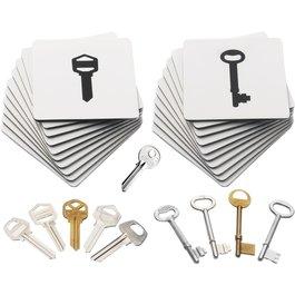 Siluety - Kľúče