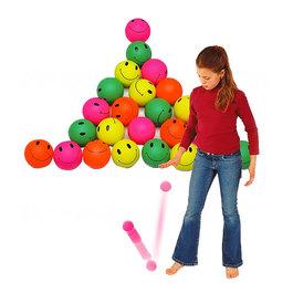 Smajlíkové míčky - Sada 24 kusů