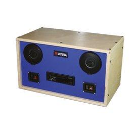 Stereo pre vibroakustické pomôcky
