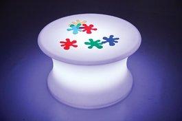 Světelný stolík