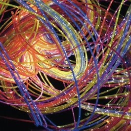 Optická vlákna, ultrafialová