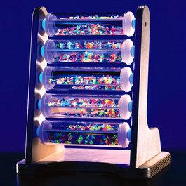 UV svetielkujúci trubicový rebrík