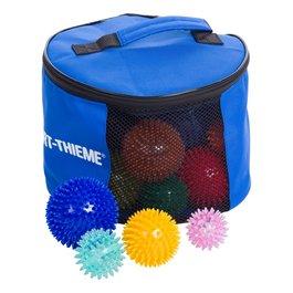 Velká souprava ježkovitých míčků