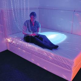 Vibrační vodní postel Královna