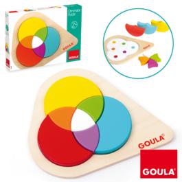 Vkladacie puzzle - Farebné spektrum