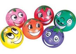 Voňavé hracie lopty - Súprava 6 kusov