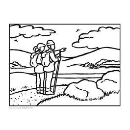 Vyfarbovacie kartičky pre seniorov - Súprava 2