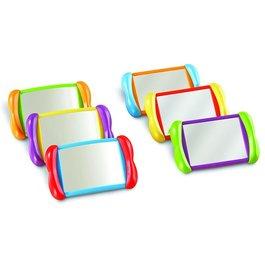 Zábavné zrkadlá - Súprava 6 kusov