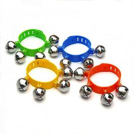 Zvoniace náramky - Súprava 4 kusov