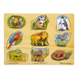 Zvukové puzzle - Zoo