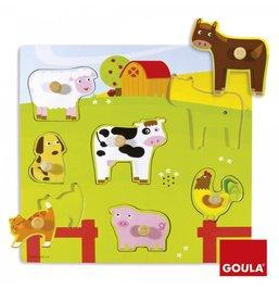 Zvukové puzzle - Zvieratá